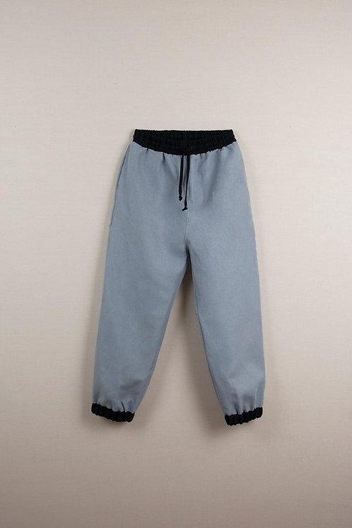 Blue Jogger Trousers