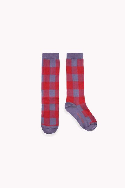Check High Socks