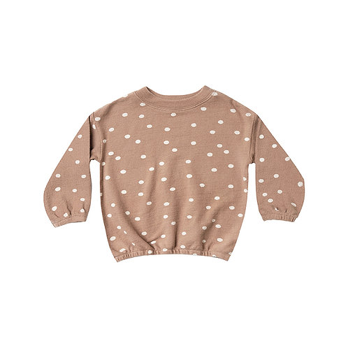 Set Of Dot Pullover Sweater & Legging