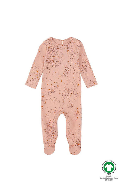 Nat Bodysuit, Peach Perfect, Minis Splash Rose