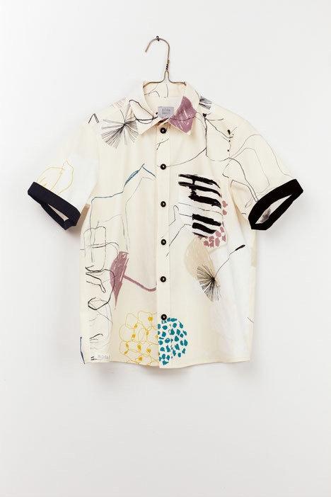 Henri Shirt - Nostalgia Print