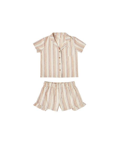 Multi Stripe Bedtime Pajama Set