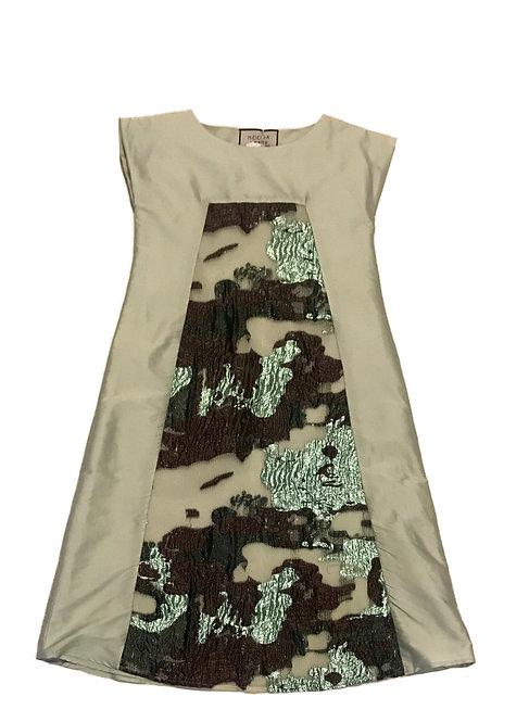 Seafoam Taffeta Dress