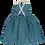 Thumbnail: Colmar Dress Green/ Blue