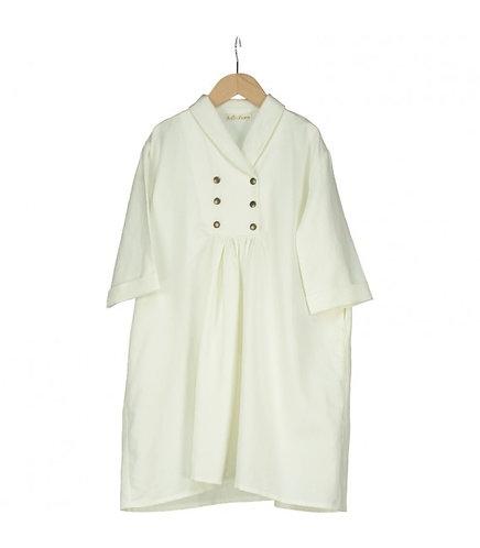 Sibelius Beige Linen Dress