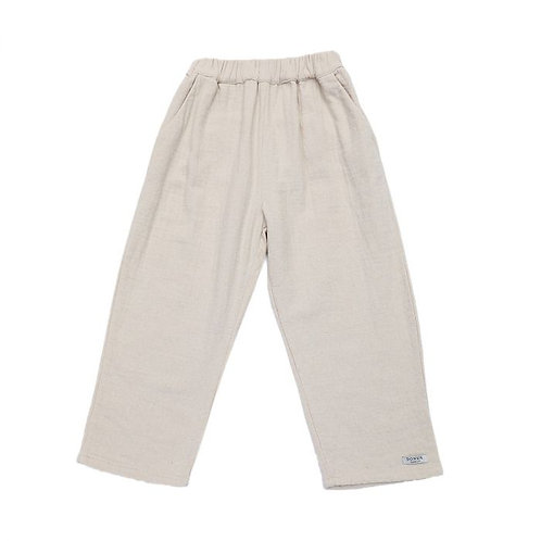 Ede Trousers- Coconut White