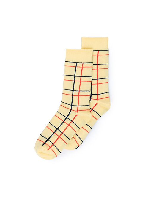 Lines Long Socks