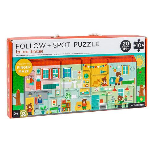 Follow & Spot Puzzle
