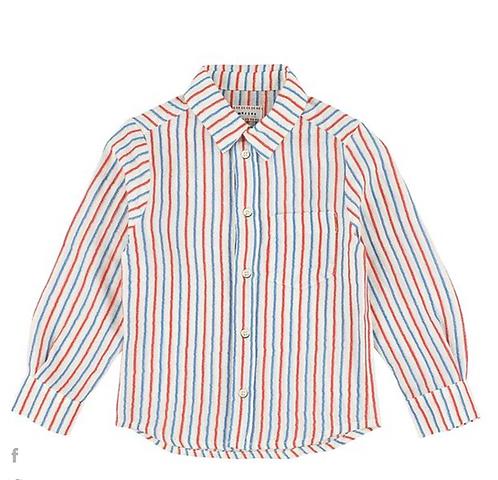 Benjamin Matt Bleu Shirt