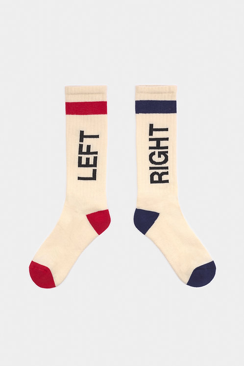 Left Right Socks