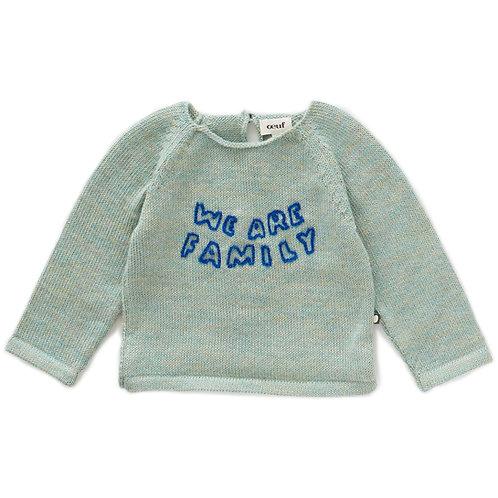 Set Of Raglan Sweater & Blue Everyday Pants