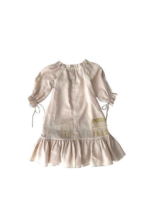 Alula Embroidered Girls Dress