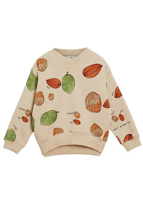 Set Of Hey Sweatshirt & Pants- Almond