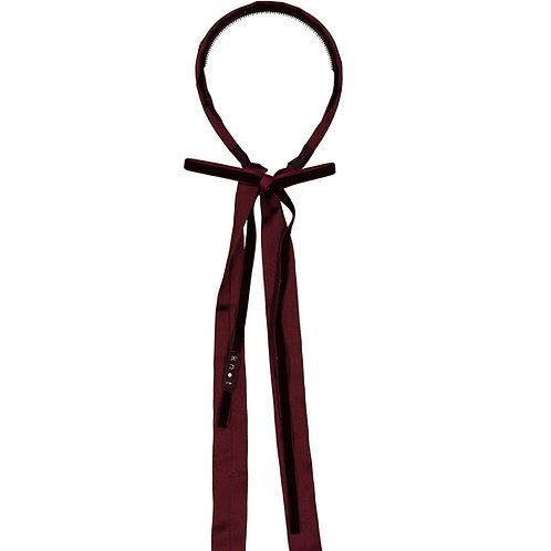 Silk + Velvet Ribbon Headband