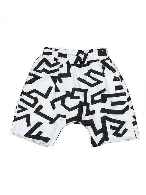 Brenden- Geo Print Shorts