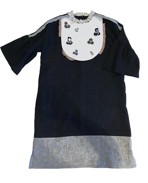 Lulwah Dress- Black