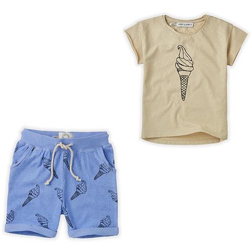 Ice cream T-Shirt & Short Set