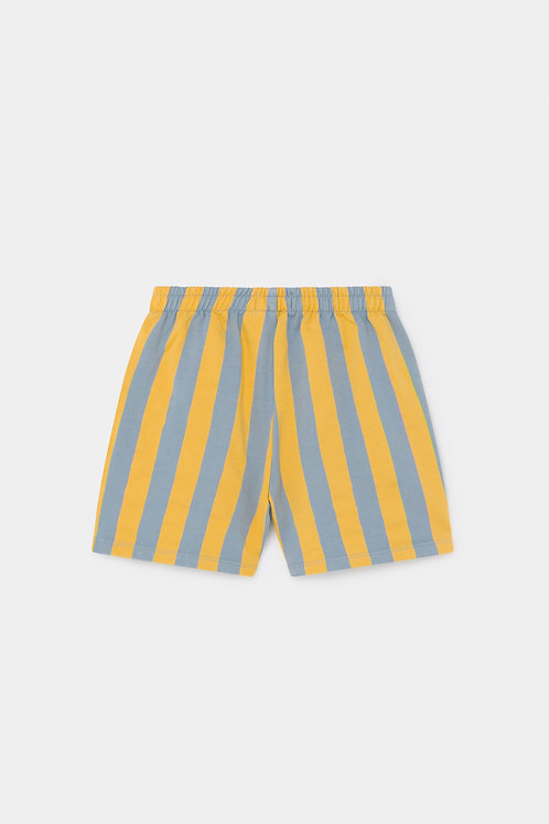 Striped Fleece Bermuda