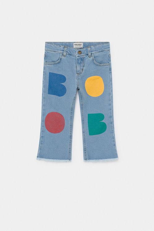 Multicolor Bobo Flared Pants