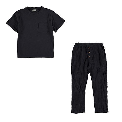 Organic Flame T-Shirt & Trousers Set