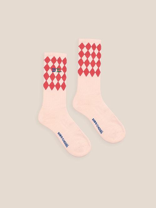 Diamonds Long Socks