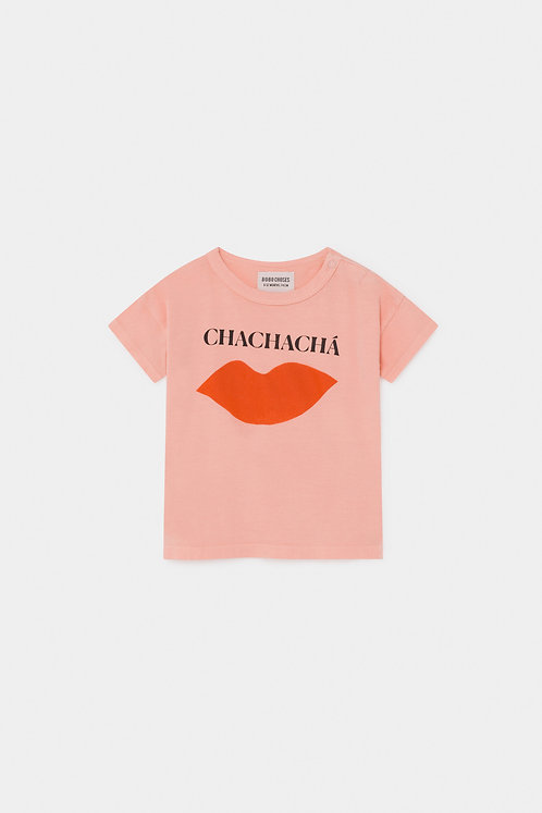 Set of Chacha T-shirt & Red Striped Trousers