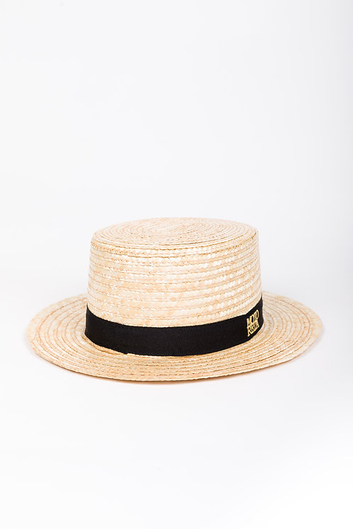 Canotier Natural Straw