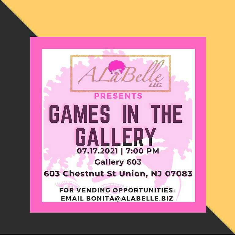 Games in the Gallery