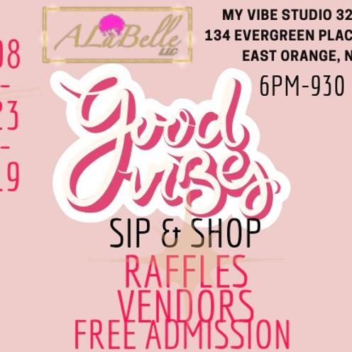 Good Vibes Sip n Shop Vendors