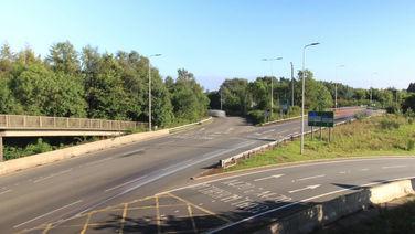 Coryton Roundabout Timelapse