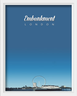 Thames Embankment, London