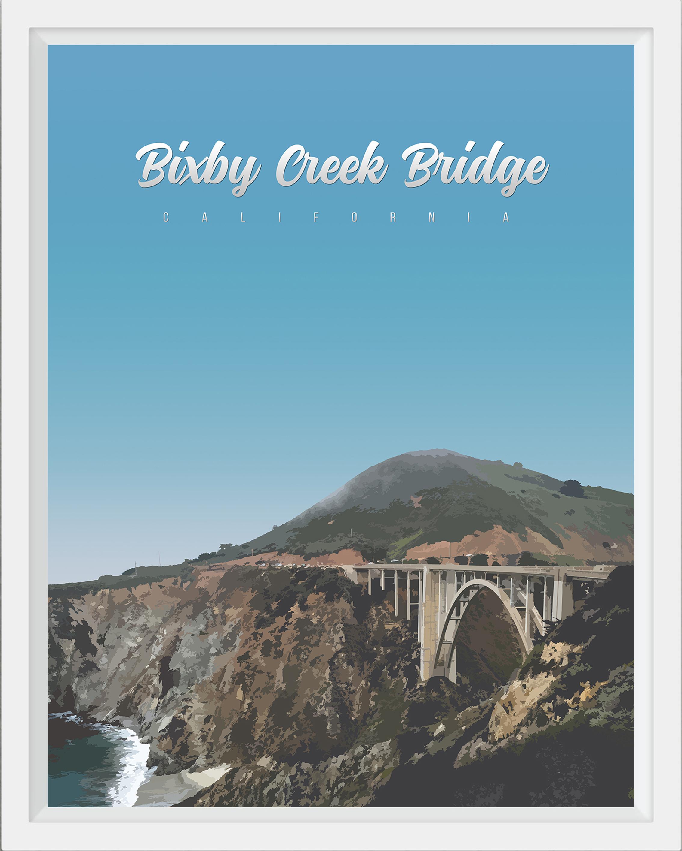 Bixby Bridge, California