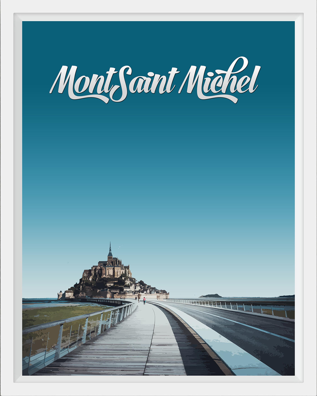 Mont Sant Michel, France