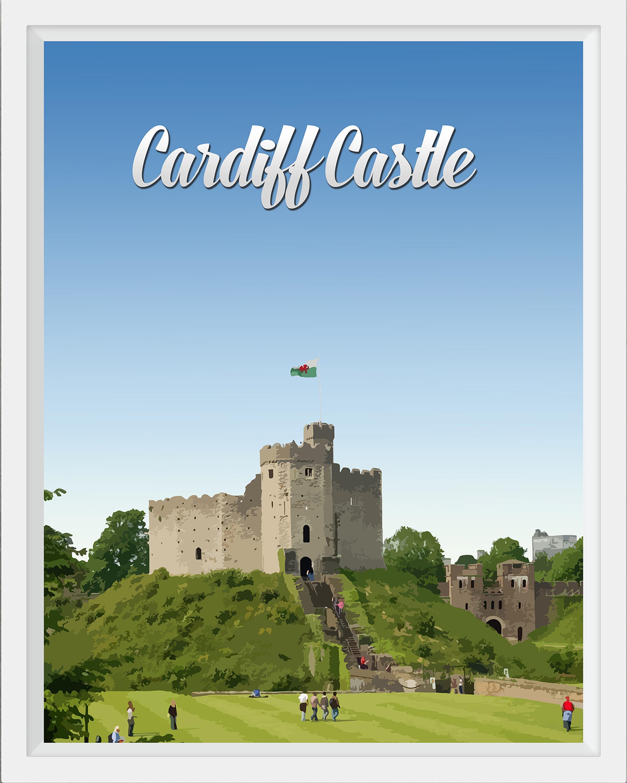 Inside Cardiff Castle, Wales