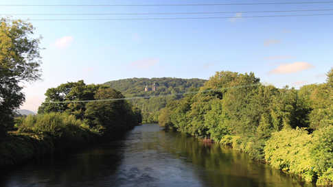 River Taff Castell Coch Timelapse