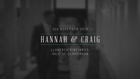 Hannah & Craig Wedding Highlights