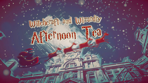 Harry Potter Christmas Afternoon Tea Event 2019