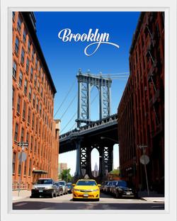 Brooklyn Bridge, NY Streets