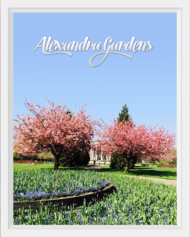 Alexandra Gardens, Cardiff
