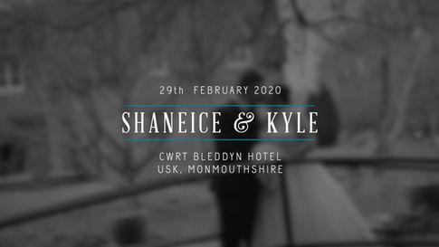 Shaneice & Kyle Wedding Highlights