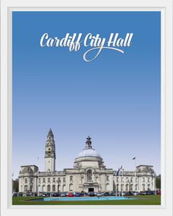 Cardiff City Hall, Wales