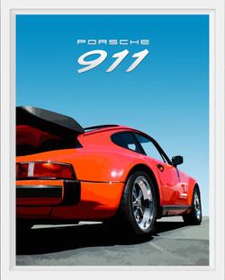Porsche 911 (red)
