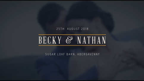 Becky & Nathan Harris Wedding - Sugarloaf Barn, Abergavenny