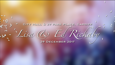 Lisa and Ed Rickaby Wedding