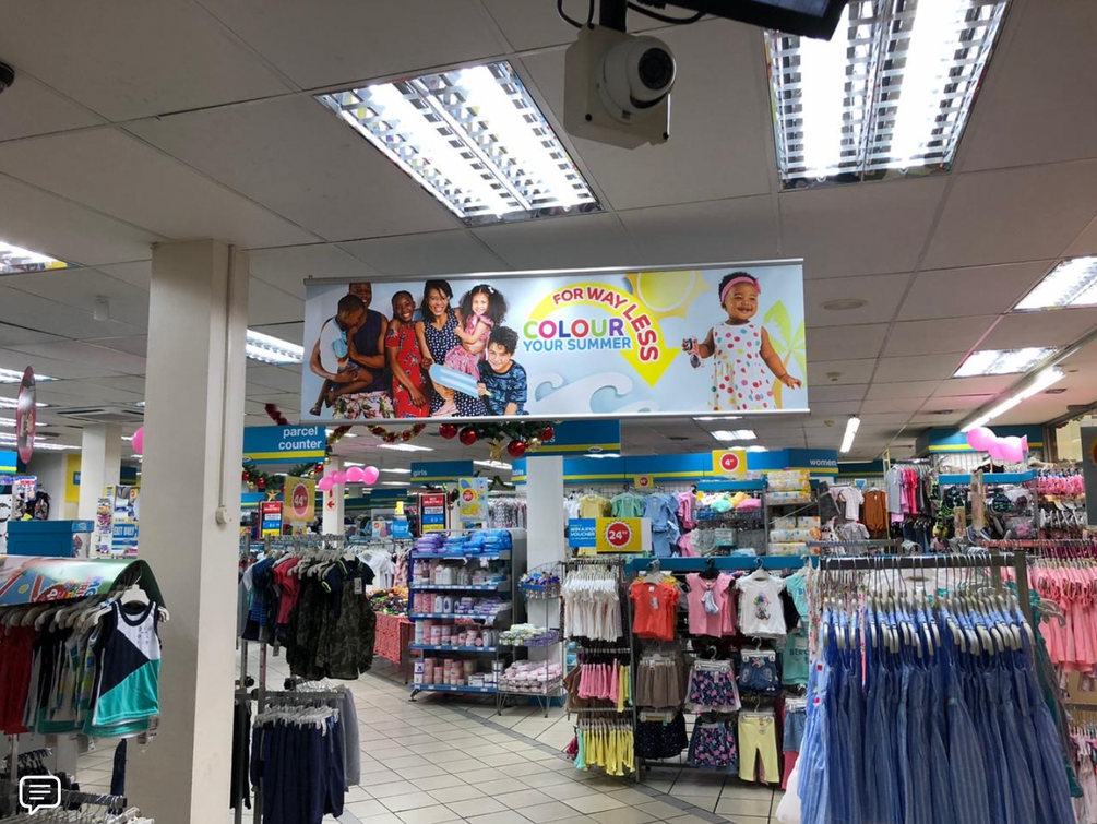 SS19 Summer Campaign - Instore Banner
