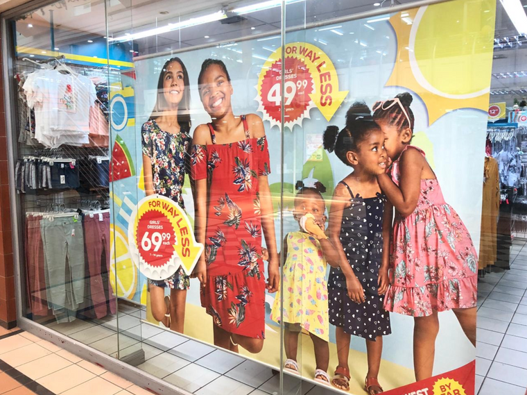 SS19 Summer Campaign - Window Poster
