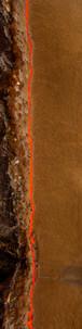Sand, orange, rock.