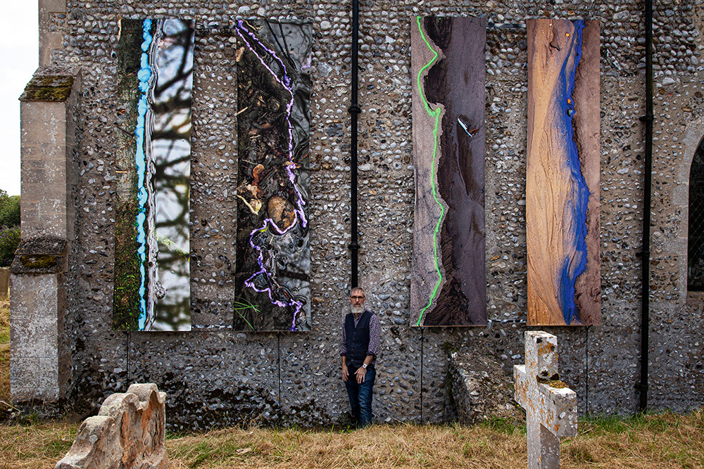 At 'Borderlines', the Cley Contemporary show 2019