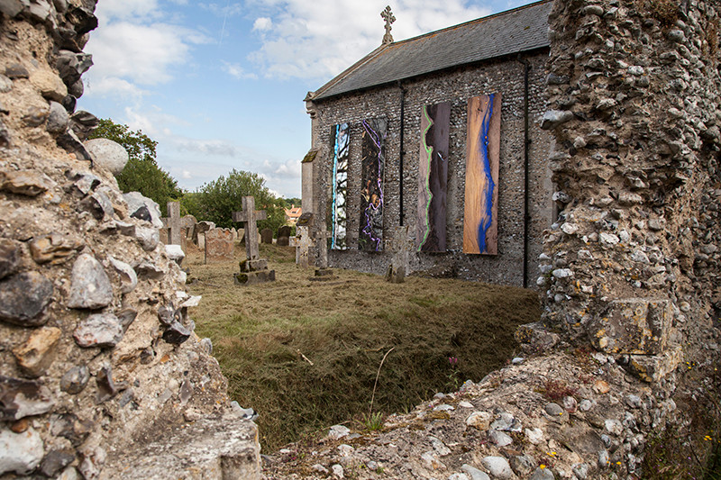 At 'Borderlines' with Cley Contemporary 2019