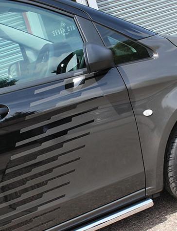 Mercedes Vito Carbon Doors